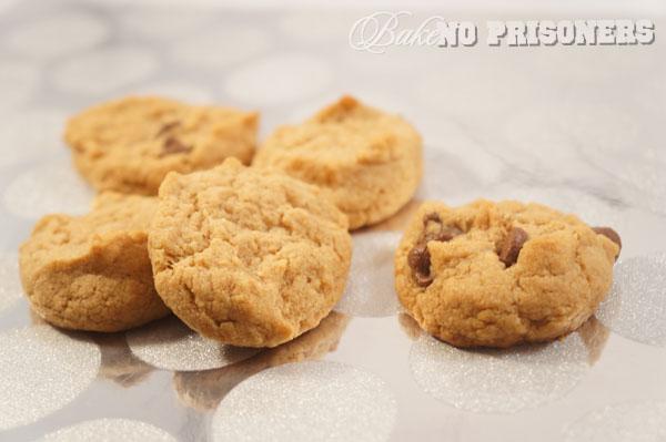 Flourless, Sugarless, Gluten Free Peanut Butter Cookies
