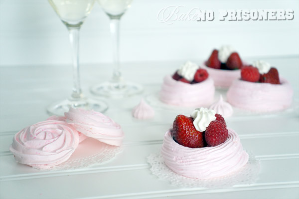 Pink Champage Meringue