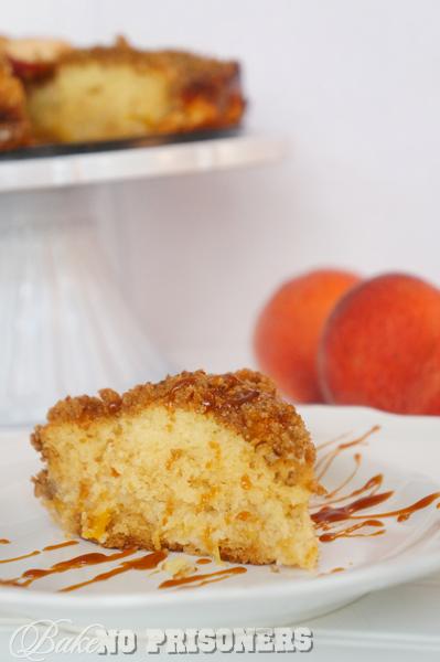 Peachy Crumb Cake