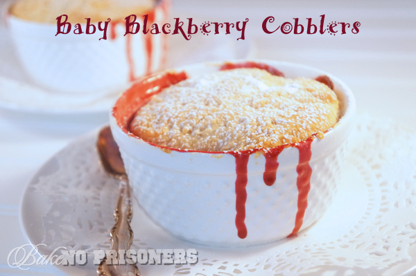 Baby Blackerry Cobblers