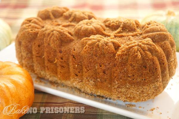 Pumpkin Biscoff Bread
