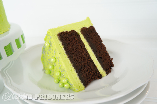 Glow in the Dark Chocolate Cake