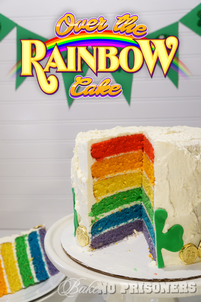 Over the Rainbow Orange Spice Cake